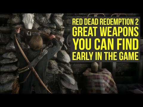 Red Dead Redemption 2 Weapons YOU WANT TO GET Early In The Game (RDR2 Weapons)