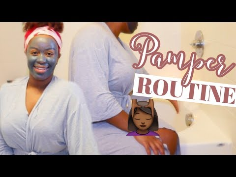 WINTER PAMPER ROUTINE 2019| AT HOME SPA DAY!