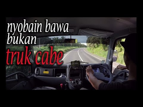 Driving Mitsubishi Canter Hd 125 Ps [mobilisation] Part 1
