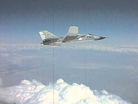 F-111 TACT Flight Over the Mojave Desert