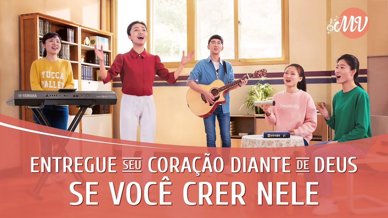 """Música gospel 2020 """"Entregue seu coração diante de Deus se você crer Nele"""""""