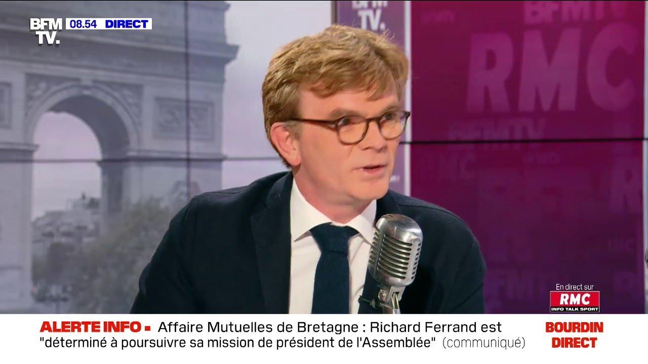 Marc Fesneau face à Jean-Jacques Bourdin sur RMC et BFMTV