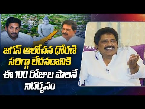 Exclusive Discussion with Sabbam Hari on YS Jagan 100 Days Ruling | Part - 2 | ABN Telugu teluguvoice