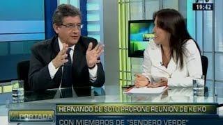 Yeni Vilcatoma (FP), La Defensora De Keiko, Debate Con Juan Sheput (PPK)