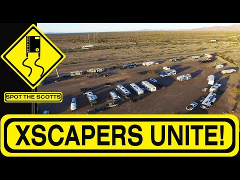 Xscapers Convergence in Quartzsite, Arizona ~ Young RVers & Boondocking {#174}