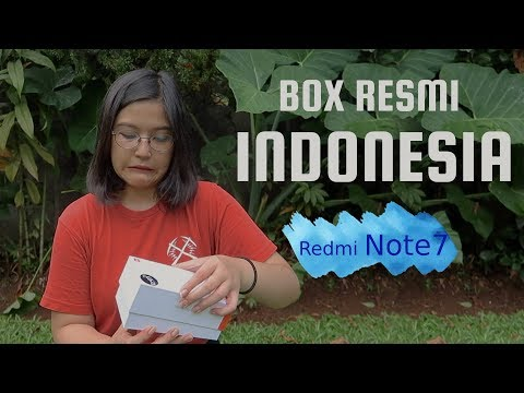 Unboxing Redmi Note 7 Versi Indonesia - Rp 2 Juta