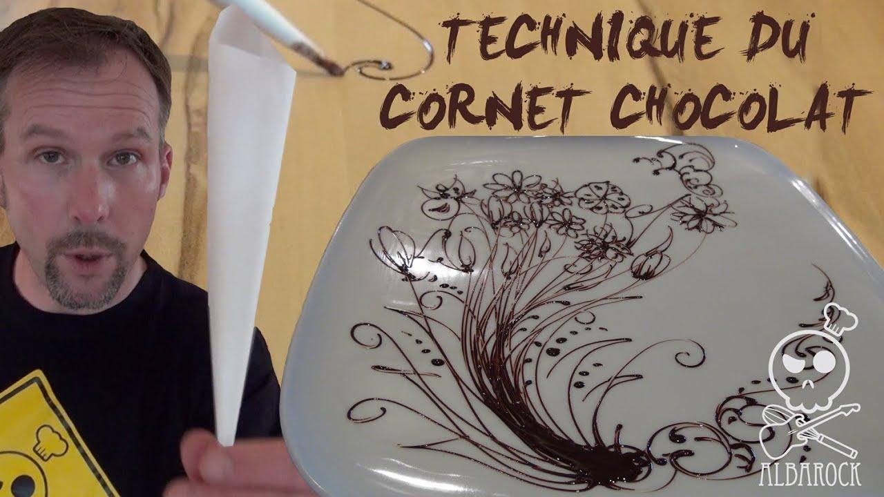 technique du cornet au chocolat how to do cornet paper p tisserie albarock youtube. Black Bedroom Furniture Sets. Home Design Ideas