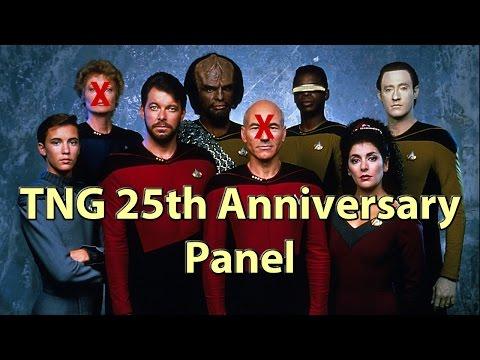 Star Trek TNG 25th Reunion Panel HD Burton, Sirtis, Spiner, Dorn, Wheaton Anniversary Comicon Panel