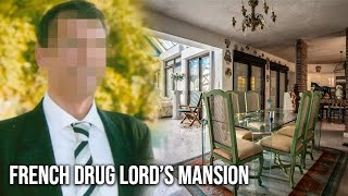 Extravagant French Drug Lord's Mansion left abandoned in the middle of a city