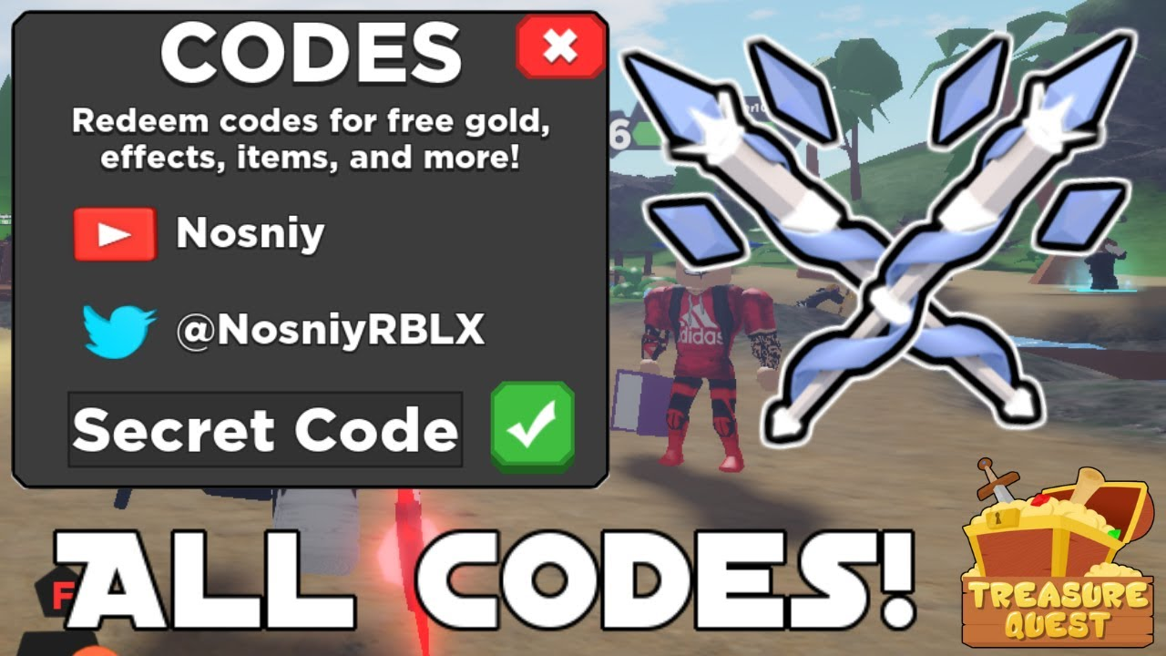 *ALL* NEW TREASURE QUEST CODES | CANDY LAND UPDATE ...
