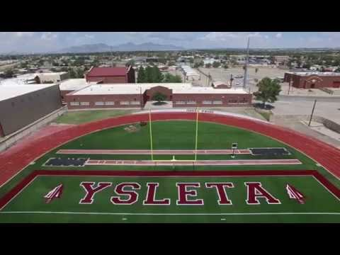 Ysleta High School - New Football Turf 2016-2017