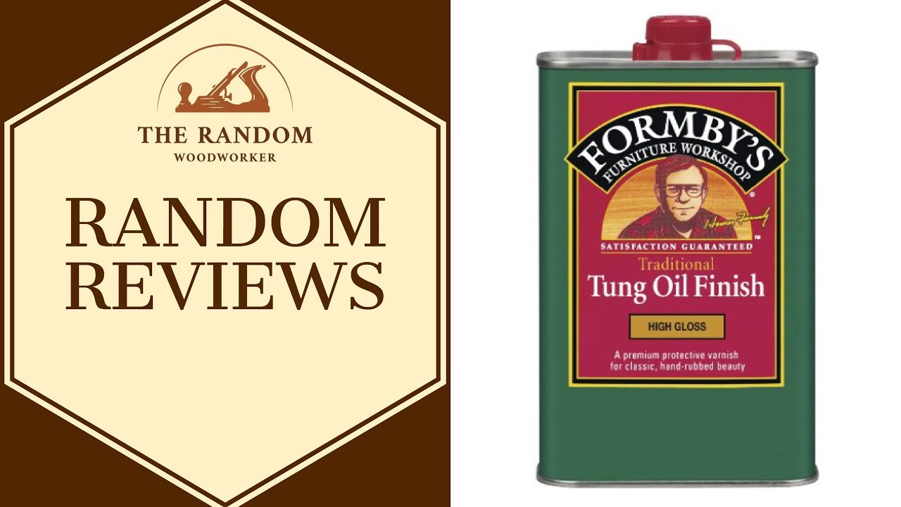 Formbys Tung Oil Finish Instructions
