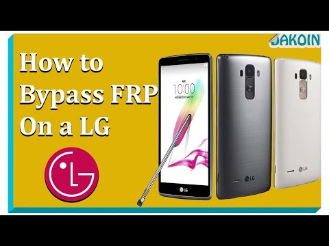🔓Brand New FRP Bypass for LG (September 2017)🔓