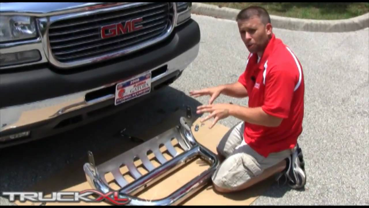 "Ionic 3"" Bull Bar Installation on GMC Sierra 3500 - YouTube"