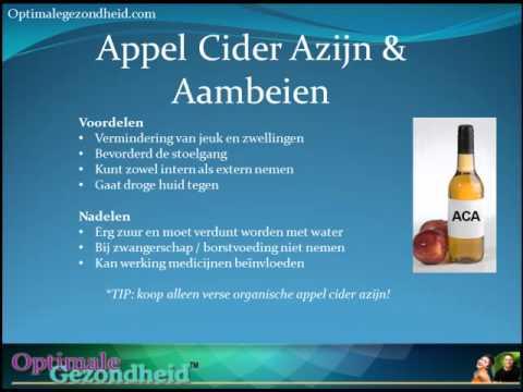 appelazijn aambeien