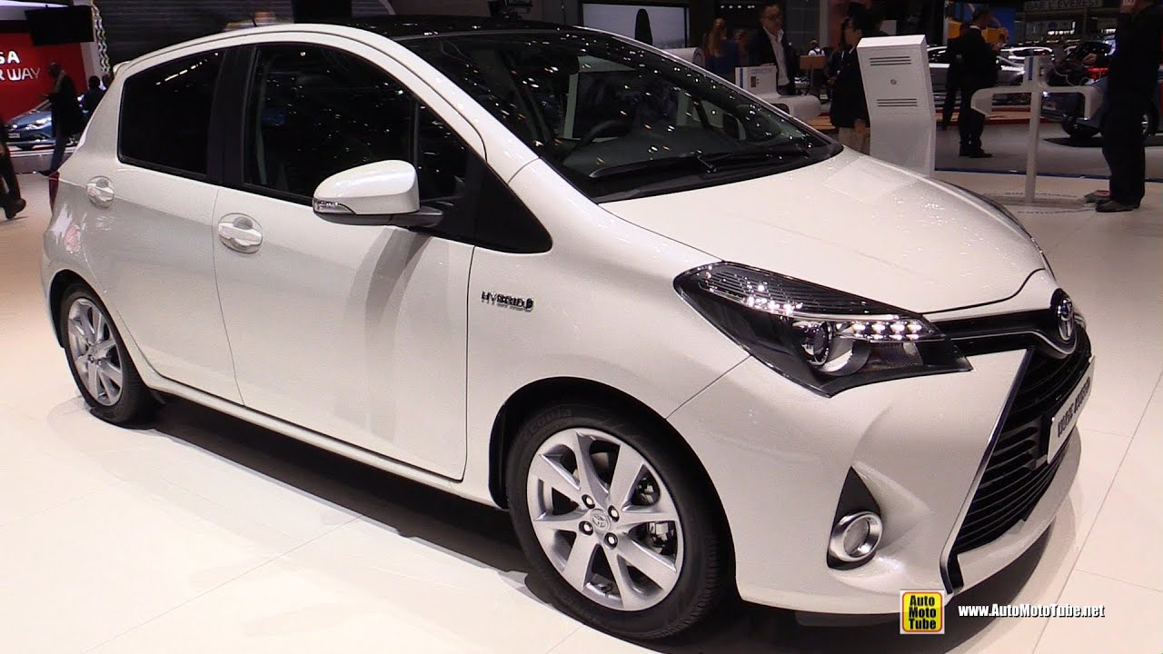 2015 toyota yaris hybrid sol premium exterior and interior walkaround 2015 geneva motor show youtube