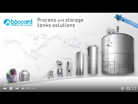 Boccard : process and Storage tanks & vessels (GB)