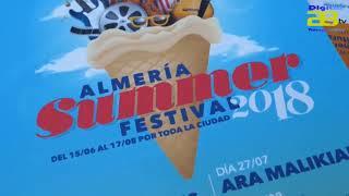 Almería vivirá un intenso verano musical con el Summer Festival
