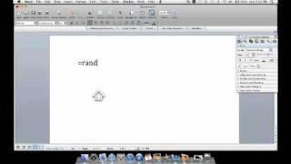 Cool Microsoft Word Trick