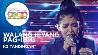 KZ Tandingan - Walang Hiyang Pag-Ibig | iWant ASAP Highlights