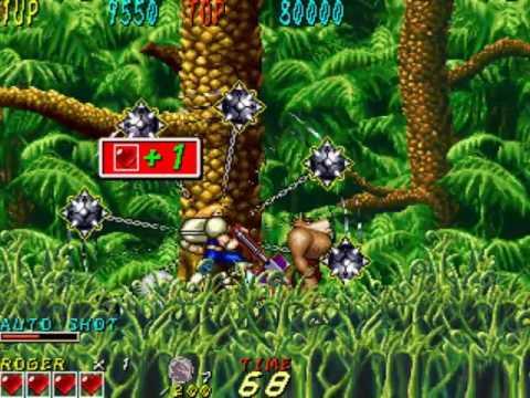 Dyna Gear ~1993 Sammy~ Arcade MAME dynagear
