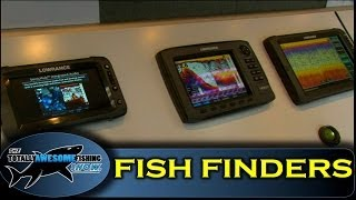 Small boat fish finders - Totally Awesome Fishing Show