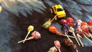 New yummy lollipops learning color
