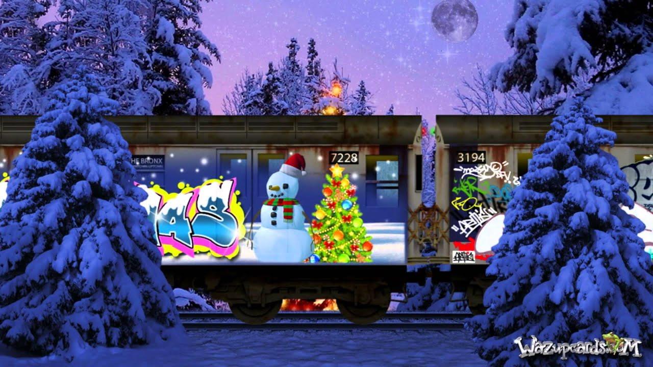 subway graffiti merry christmas happy holidays youtube - Subway Christmas Eve Hours