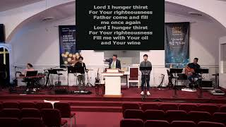 ICC WORSHIP SERMON(IM) 3/22/2020 'Hunger & Humility for His Righteousness'  (Mat. 5:6 & 10) Rev. Joh