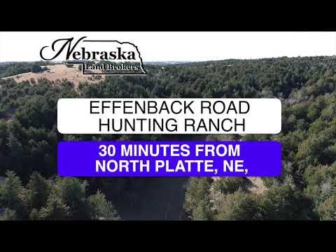 EFFENBACK ROAD HUNTING RANCH, Maxwell, NE Offered For Sale by Nebraska Land Brokers, LLC