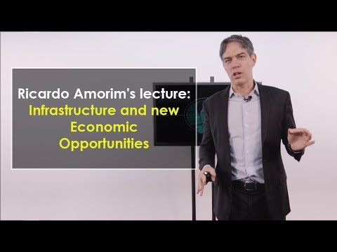 Ricardo Amorim's lecture: infrastructure and new economic opportunities