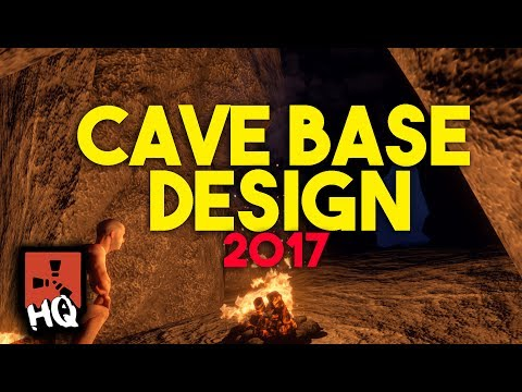 NEW CAVE BASE DESIGN 2017!! - [ Rust ]