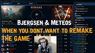Bjergsen & Meteos - When you dont want to Remake the game