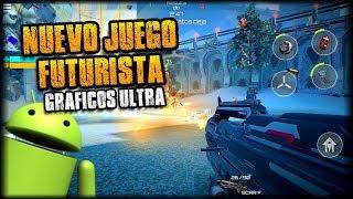 DESCARGA  NUEVO JUEGO SHOOTER FUTURISTA PARA ANDROID - DESTINY WARFARE APK - GRÁFICOS ULTRA GAMEPLAY
