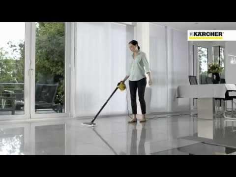 K rcher lavapavimenti a vapore sc 1 youtube for Karcher pulitore a vapore sc 5