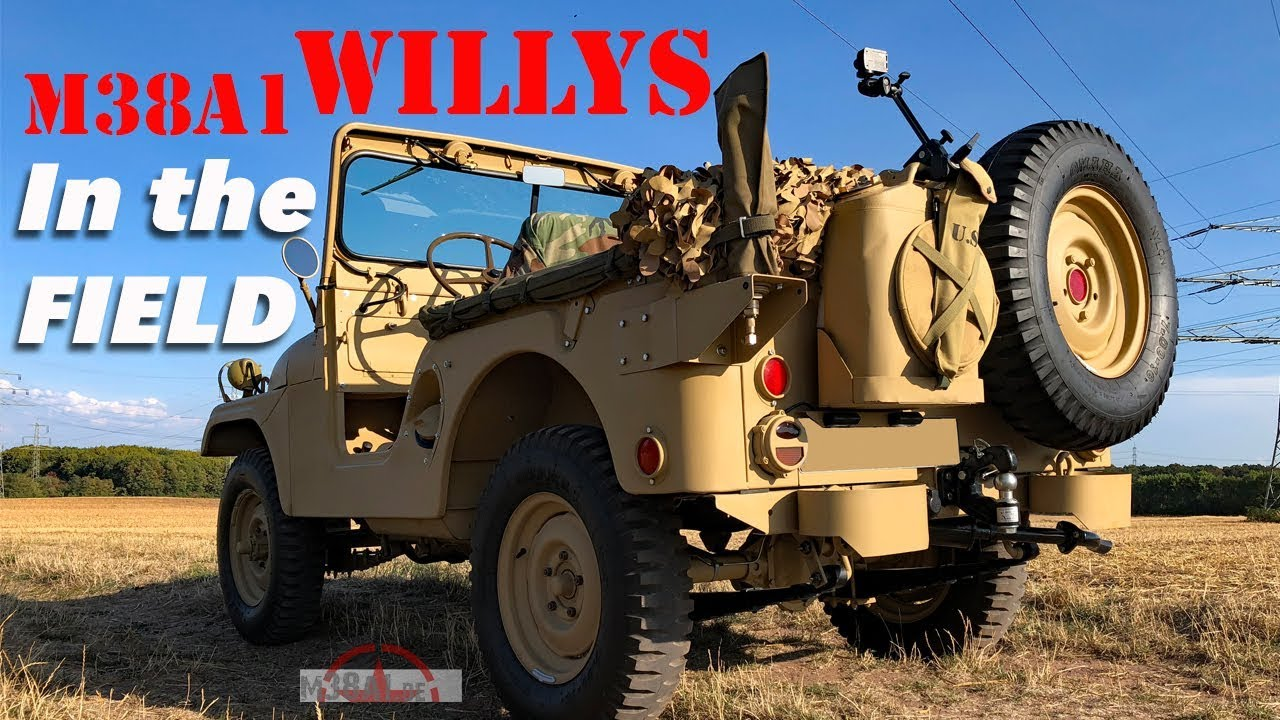 www m38a1 de restoration of a willys jeep m38a1 1 4 ton 4 4 utility truck [ 1280 x 720 Pixel ]