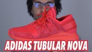 Adidas tubular nova triple red review/on feet
