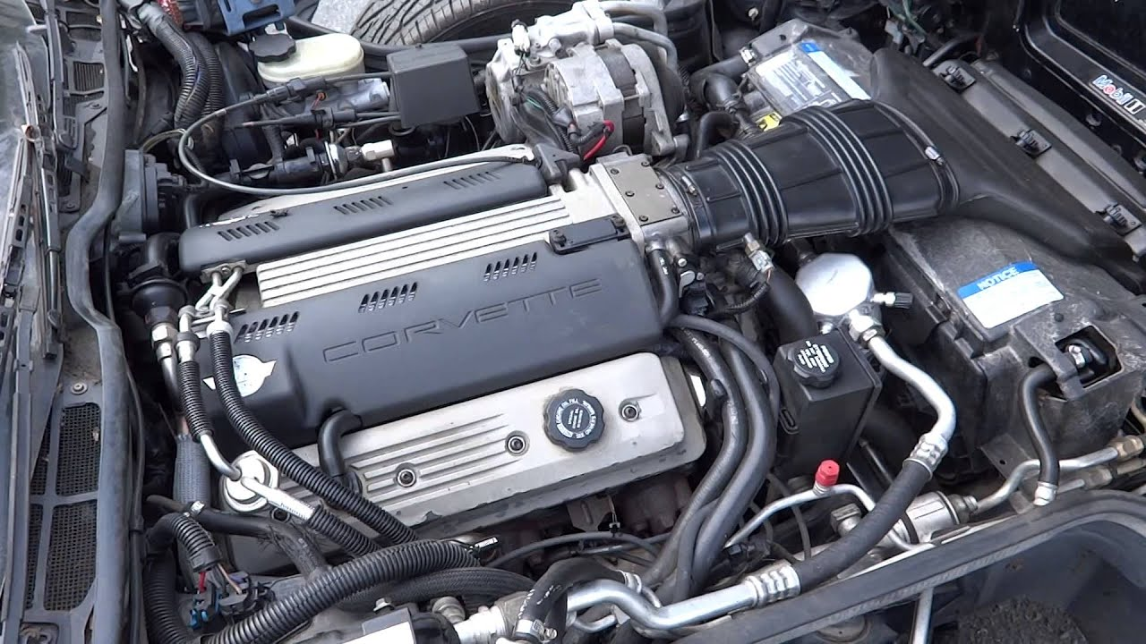 1992 C4 Corvette Lt1 Engine For Sale