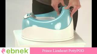 The Best Potty for your child, Soft Touch and Cushion texture.