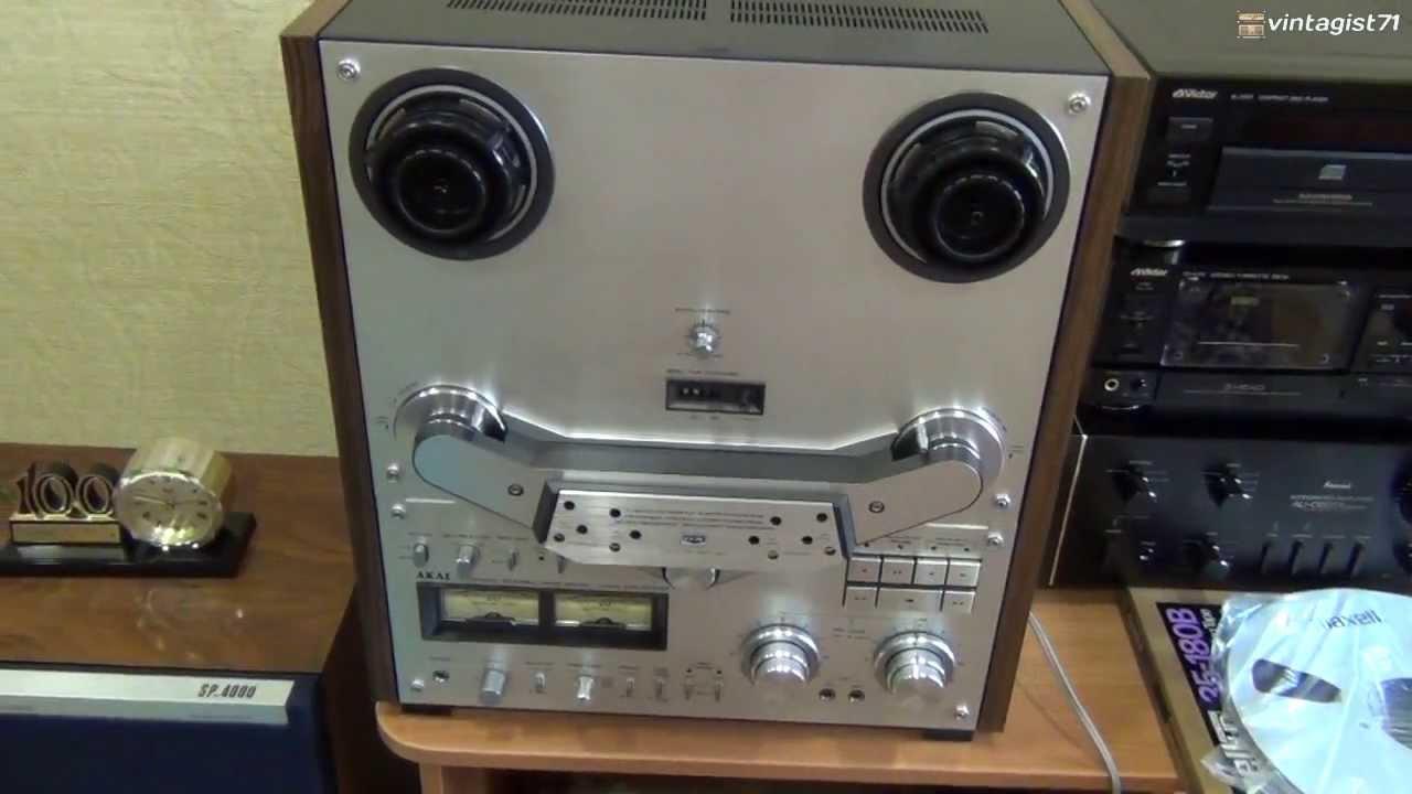 МАЯК 001 СТЕРЕО (катушечный магнитофон,высшего класса) - YouTube