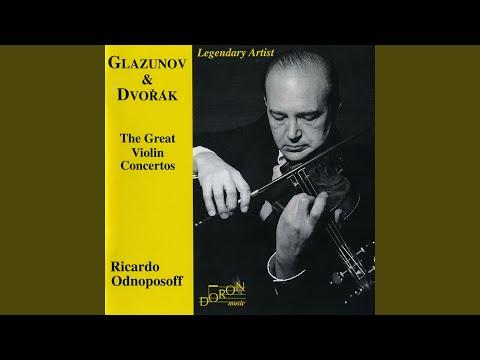 Violin Concerto In A Minor, Op. 82: IV. Allegro