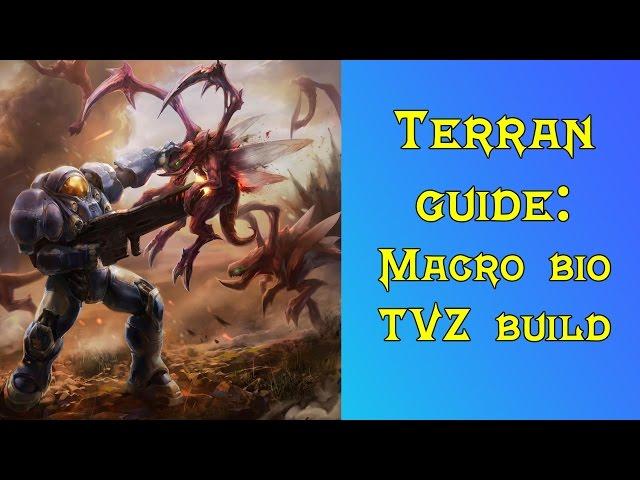 StarCraft 2 Terran guide: TvZ fast expand triple CC bio opener