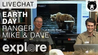 Earth Day with Ranger Mike & Ranger David - Live Chat