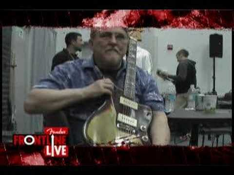 Fender at NAMM 2008 | Interview w/ Don Wilson of the Ventures | Fender