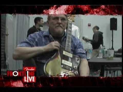 Fender at NAMM 2008 | Interview w/ Don Wilson of the Ventures | Fender