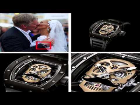 Песков одел на свадьбу часы с черепом за 37 млн. рублей
