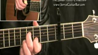 How To Play James Taylor Something In The Way She Moves Introduction