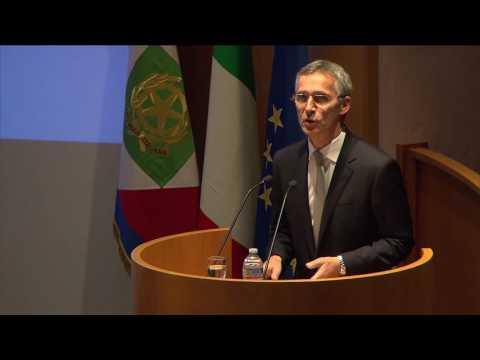NATO Secretary General at NATO Defense College, 13 OCT 2016