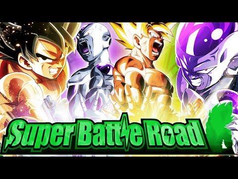 SUPER TEQ EXTREME SUPER BATTLE ROAD COMPLETED! (DBZ: Dokkan Battle)