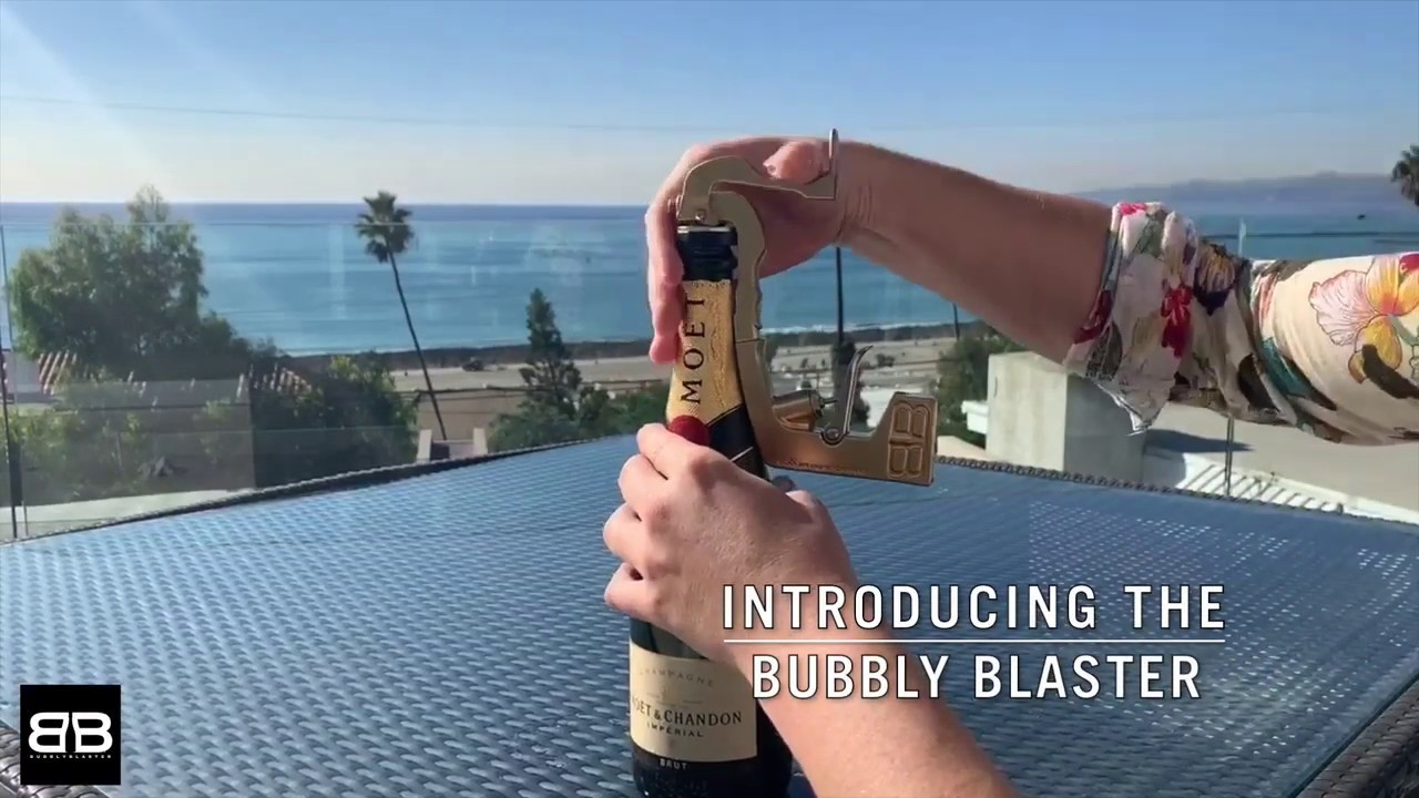 Bubbly Blaster Champagne Sprayer // Black video thumbnail